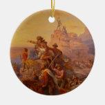 ¡Hacia el oeste Ho! - 1860 Ornamente De Reyes