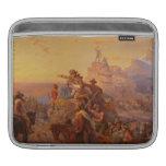 ¡Hacia el oeste Ho! - Manuel Leutze (1860) Funda Para iPads