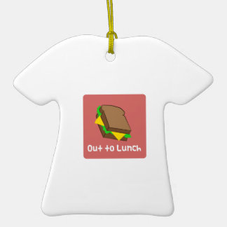 Hacia fuera al almuerzo ornato
