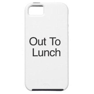 Hacia fuera al almuerzo iPhone 5 Case-Mate carcasas