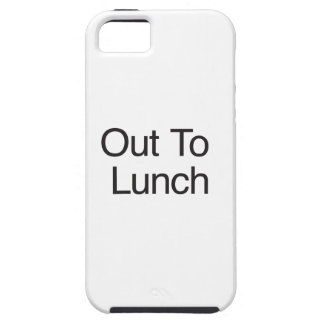 Hacia fuera al almuerzo iPhone 5 protector