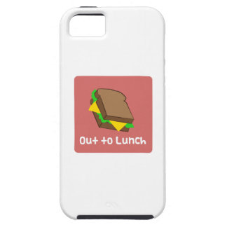 Hacia fuera al almuerzo iPhone 5 Case-Mate cárcasa