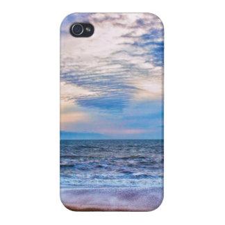 Hacia fuera al mar iPhone 4 funda