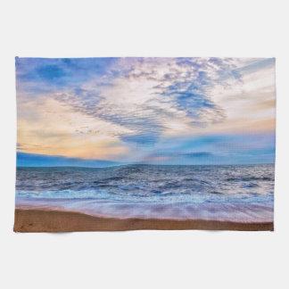 Hacia fuera al mar toalla de cocina