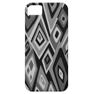 Hacia fuera caso abstracto retro lejano del iPhone iPhone 5 Case-Mate Carcasa