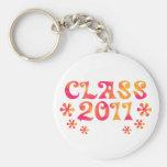 Hacia fuera clase retra lejana 2011 llavero personalizado