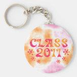 Hacia fuera clase retra lejana 2011 llaveros personalizados