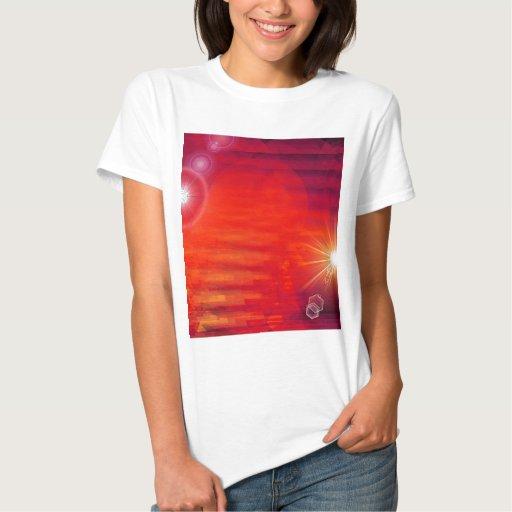 HACIA FUERA en espacio Camiseta