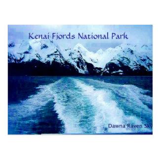 Hacia fuera en la bahía tarjetas postales