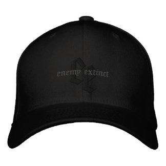 hacia fuera ennegrecido gorra extinto enemigo gorra de beisbol bordada