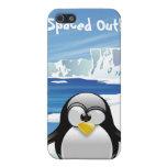 Hacia fuera espaciado pingüino iPhone 5 coberturas