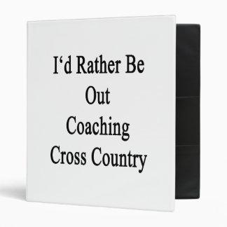 Hacia fuera estaría entrenando bastante el campo a carpeta 2,5 cm