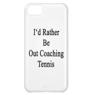 Hacia fuera estaría entrenando bastante tenis funda para iPhone 5C