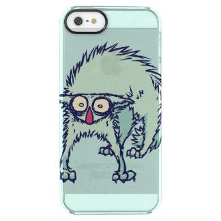 Hacia fuera Freaked gato Funda Clearly™ Deflector Para iPhone 5 De Uncommon