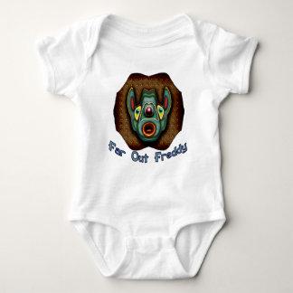 Hacia fuera Freddy lejano Body Para Bebé
