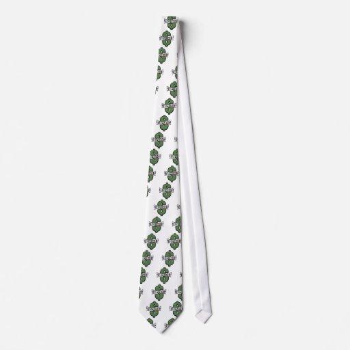 Hacia fuera golpeada ligeramente muestra de dólar  corbata personalizada