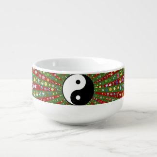 Hacia fuera Hippie lejano Yin Yang Bol Para Sopa