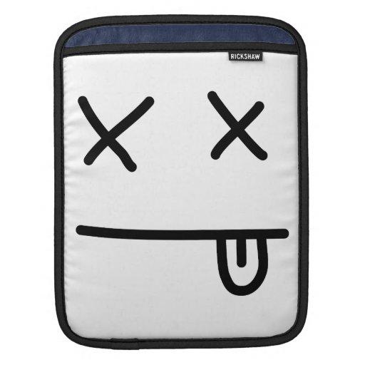 Hacia fuera pasajero Emoticon Fundas Para iPads