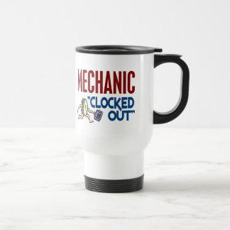 Hacia fuera registrado mecánico taza