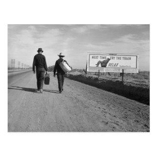 Hacia L.A. - 1937 Tarjetas Postales