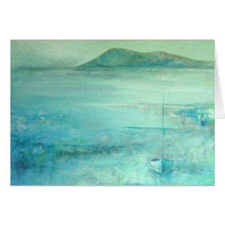 Hacia la colina de Samson, islas de Scilly Tarjeta De Felicitación