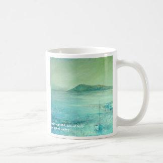 Hacia la colina de Samson, islas de Scilly Taza Clásica