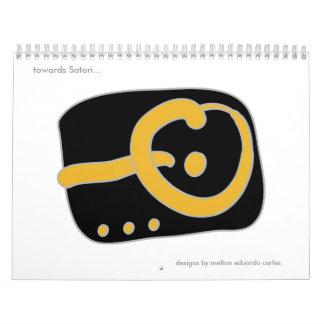 """""""hacia Satori…"""" Calendario"""