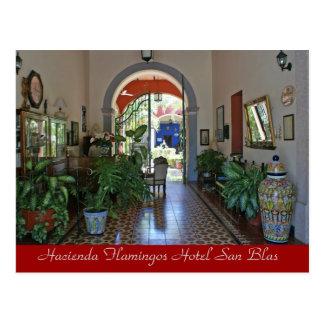 Hacienda Flamingos Hotel San Blas 2 Postcard