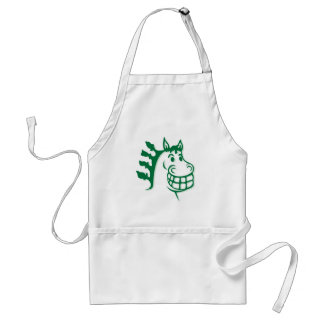 Hacienda Hay & Feed Green Horse Adult Apron