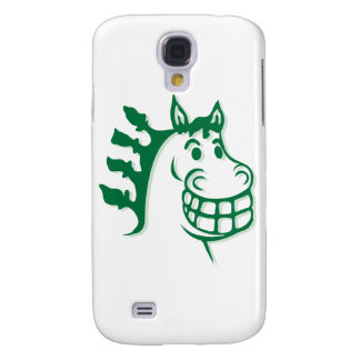 Hacienda Hay Feed Green Horse Galaxy S4 Cases