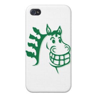 Hacienda Hay Feed Green Horse iPhone 4 Cover