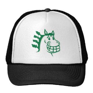 Hacienda Hay & Feed Green Horse Trucker Hat