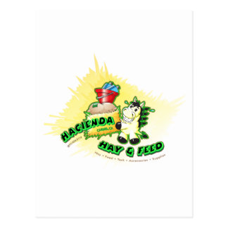 Hacienda Hay & Feed Kids Postcard