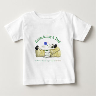 Hacienda Hay & Feed Laid back Horse Baby T-Shirt