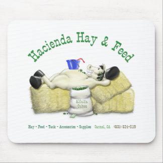 Hacienda Hay & Feed Laid back Horse Mouse Pad