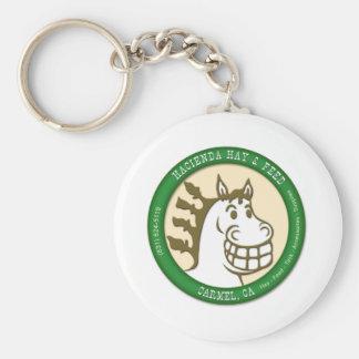 Hacienda Hay & Feed Logo Keychain
