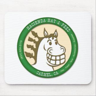 Hacienda Hay & Feed Logo Mouse Pad