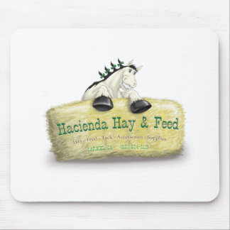 Hacienda Hay & Feed Straw Bale Mouse Pad