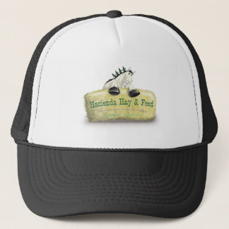 Hacienda Hay & Feed Straw Bale Trucker Hat