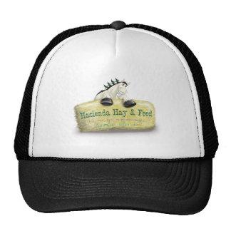 Hacienda Hay & Feed Straw Bale Trucker Hat