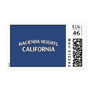 Hacienda Heights California Postage Stamps