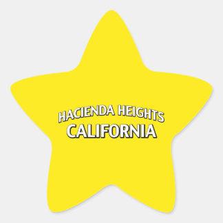 Hacienda Heights California Star Sticker