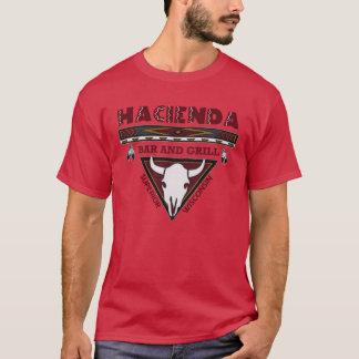 Hacienda Horns Cardinal T-Shirt