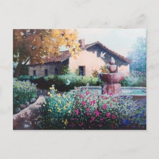 Hacienda Postcard postcard