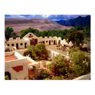 Hacienda - postcard