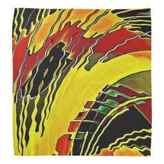 Haciendo aleación las llamas abstractas bandana