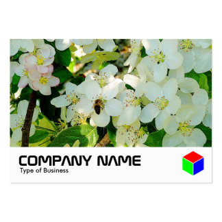 Haciendo la miel (logotipo) tarjetas de visita grandes