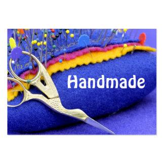 ¡Haciendo punto, crocheting y arte de la fibra! Tarjetas De Visita Grandes