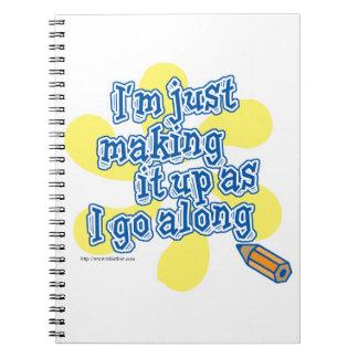 Haciéndolo para arriba como voy adelante cuadernos