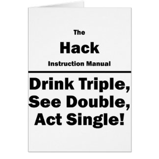 hack card
